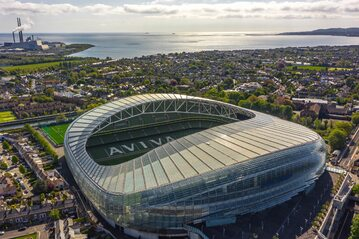 Aviva Stadium w Dublinie