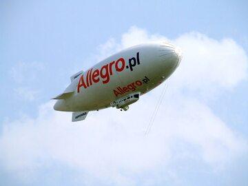 Balon reklamujący Allegro