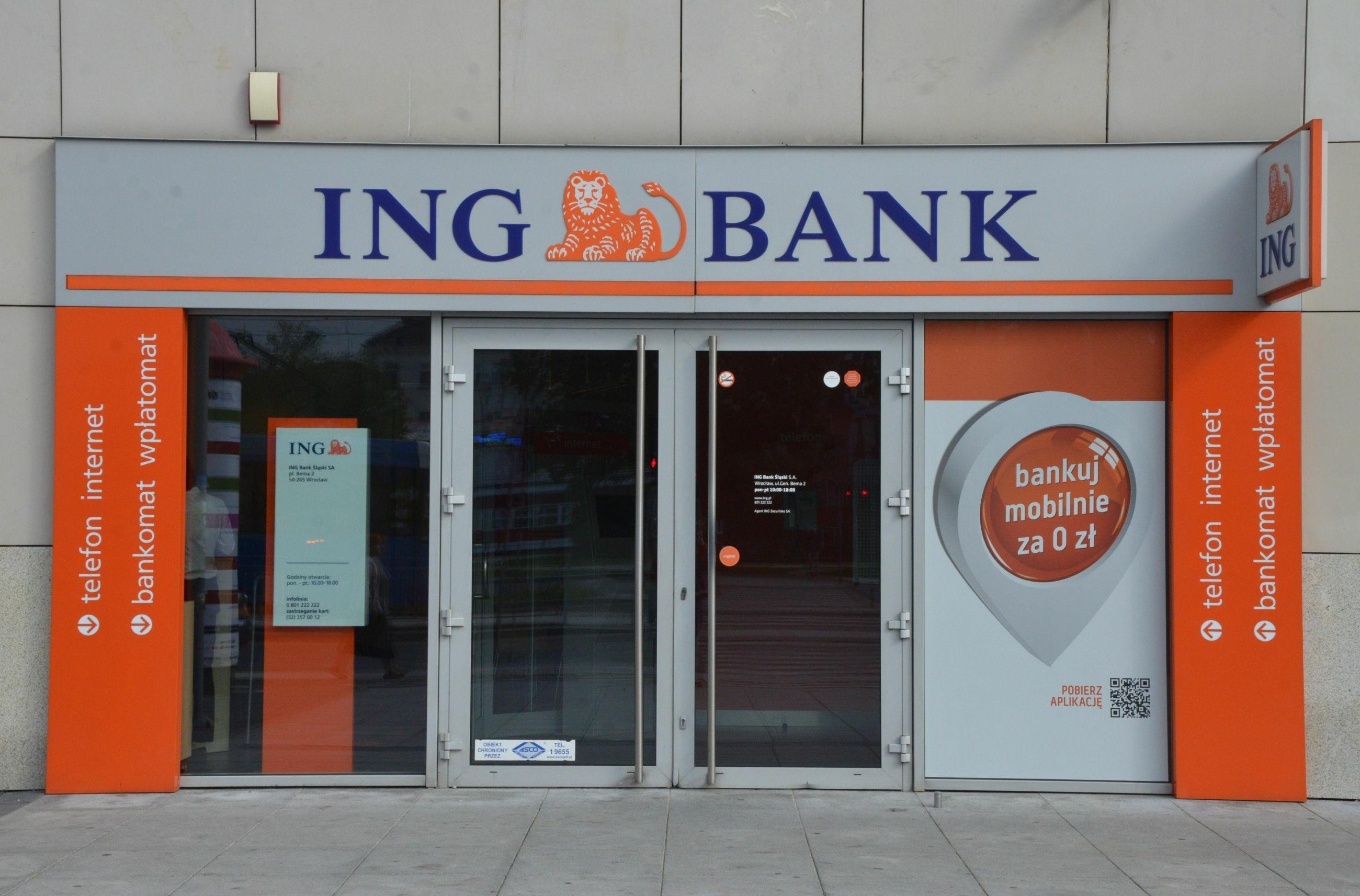 Bank ING, zdjęcie ilustracyjne