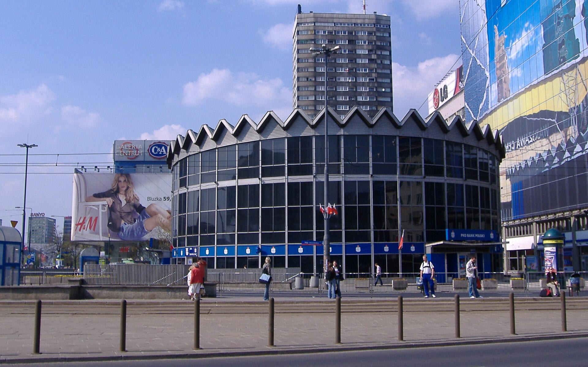 """Bank PKO """"Rotunda"""" w Warszawie"""
