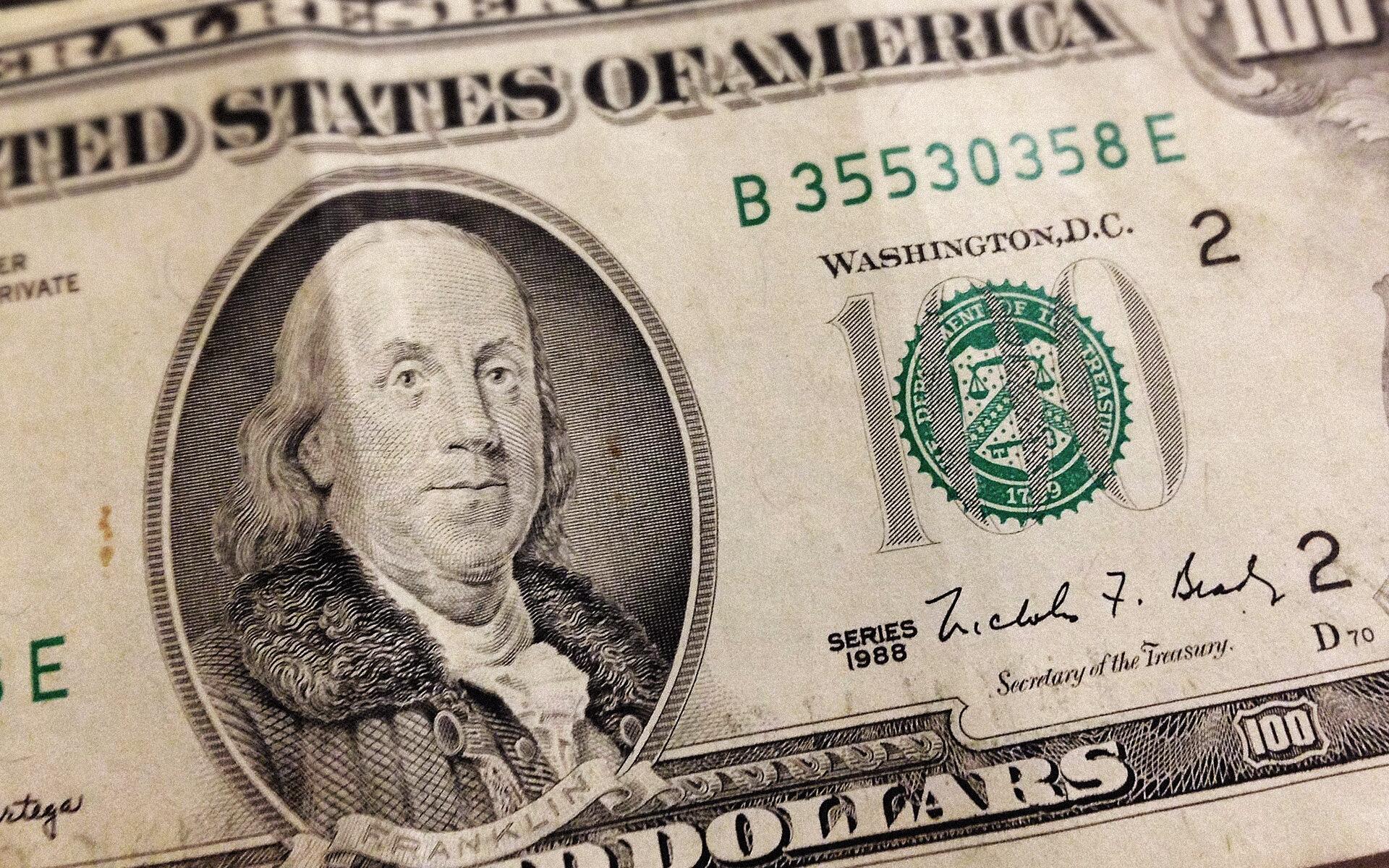 Banknot 100 dolarów