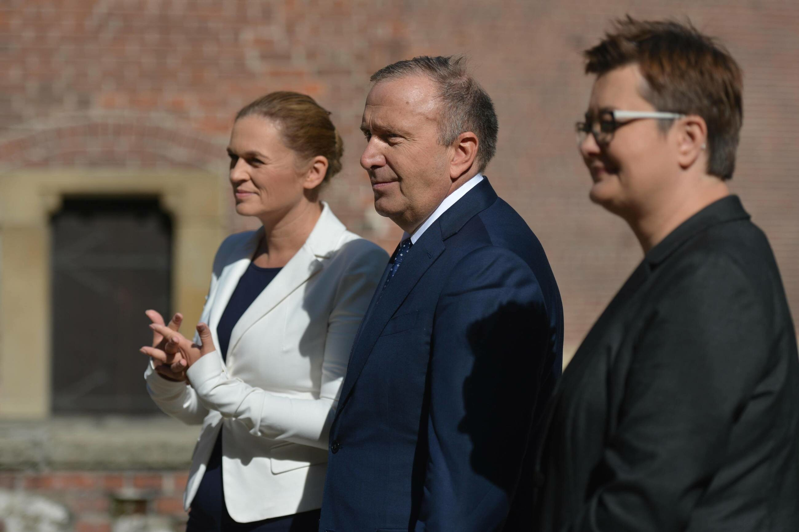 Barbara Nowacka, Grzegorz Schetyna, Katarzyna Lubnauer