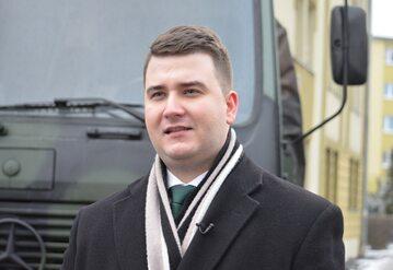 Bartłomiej Misiewicz w 2017 r.
