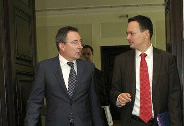 Bartłomiej Sienkiewicz i Jacek Cichocki
