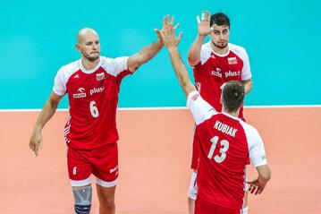 Bartosz Kurek, Michał Kubiak i Fabian Drzyzga