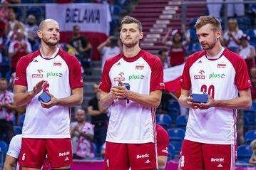 Bartosz Kurek, Piotr Nowakowski, Mateusz Bieniek