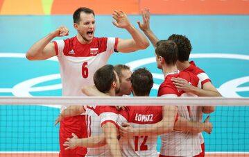 Bartosz Kurek w meczu reprezentacji Polski z USA, Rio 2016