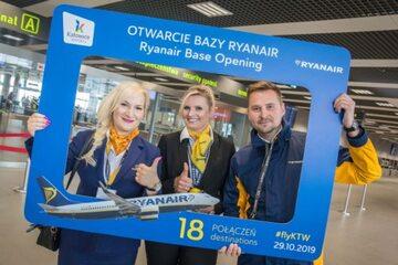 Baza Ryanair w Katowicach