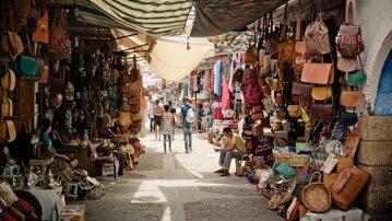 Bazar w Maroko – zdjęcie ilustracyjne