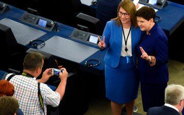 Beata Mazurek i Beata Szydło