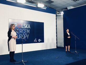 Beata Szydło i Beata Mazurek