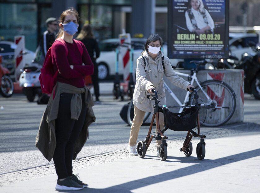 Berlin w trakcie epidemii koronawirusa