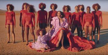 """Beyonce i Blue Ivy w teledysku do piosenki """"Spirit"""""""