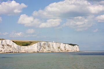 Białe Klify w Dover, zdjęcie ilustracyjne