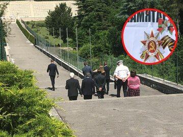 Białoruska delegacja na Monte Cassino