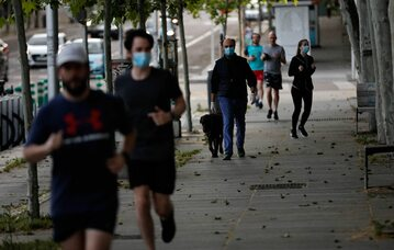 Biegacze w Madrycie