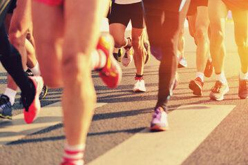 Biegacze, zdjęcie ilustracyjne