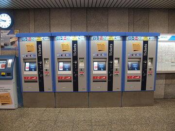 Biletomaty w Monachium