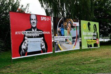Billboardy wyborcze w Niemczech – 2021 rok