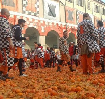 Bitwa na pomarańcze