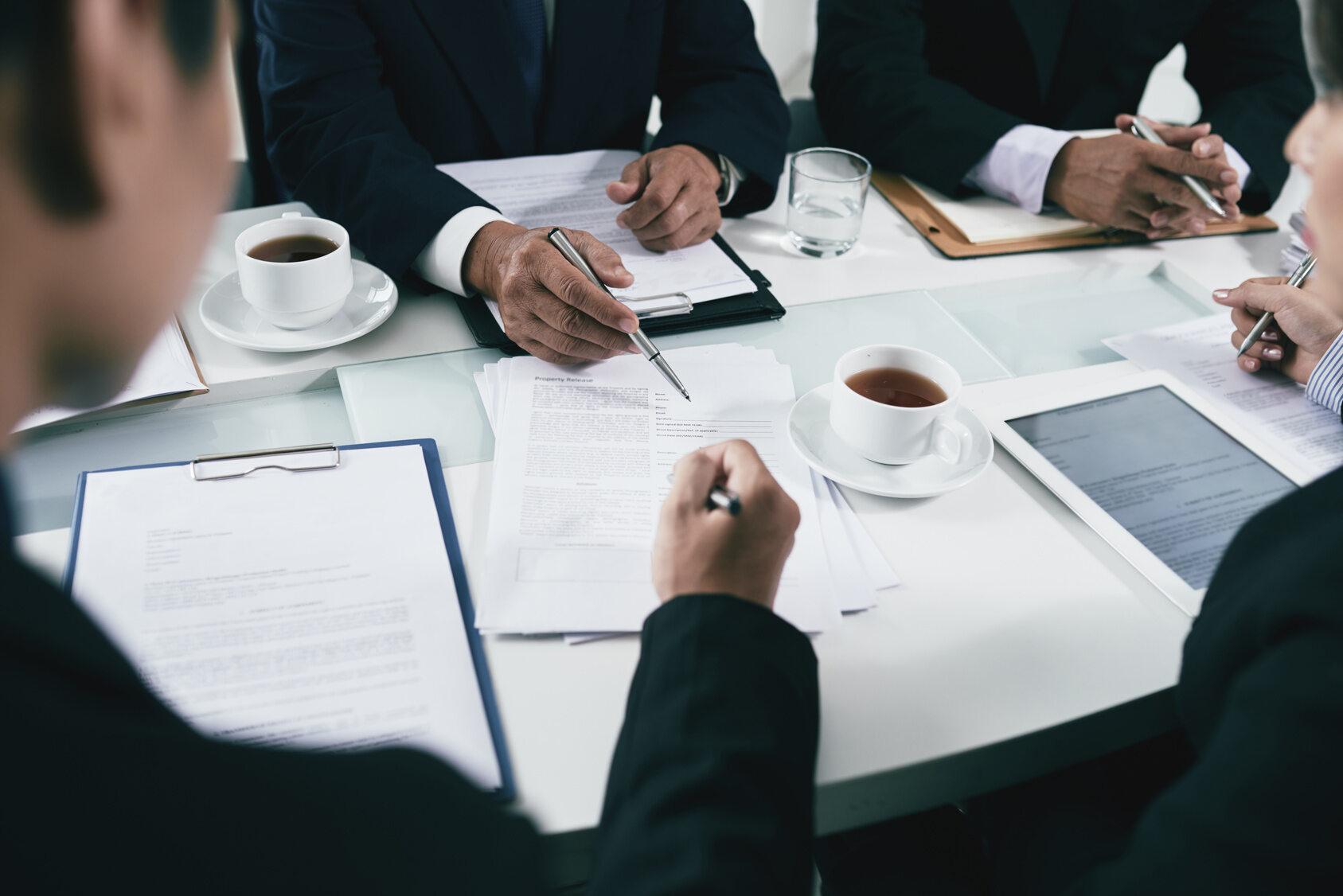 Biznes, spotkanie