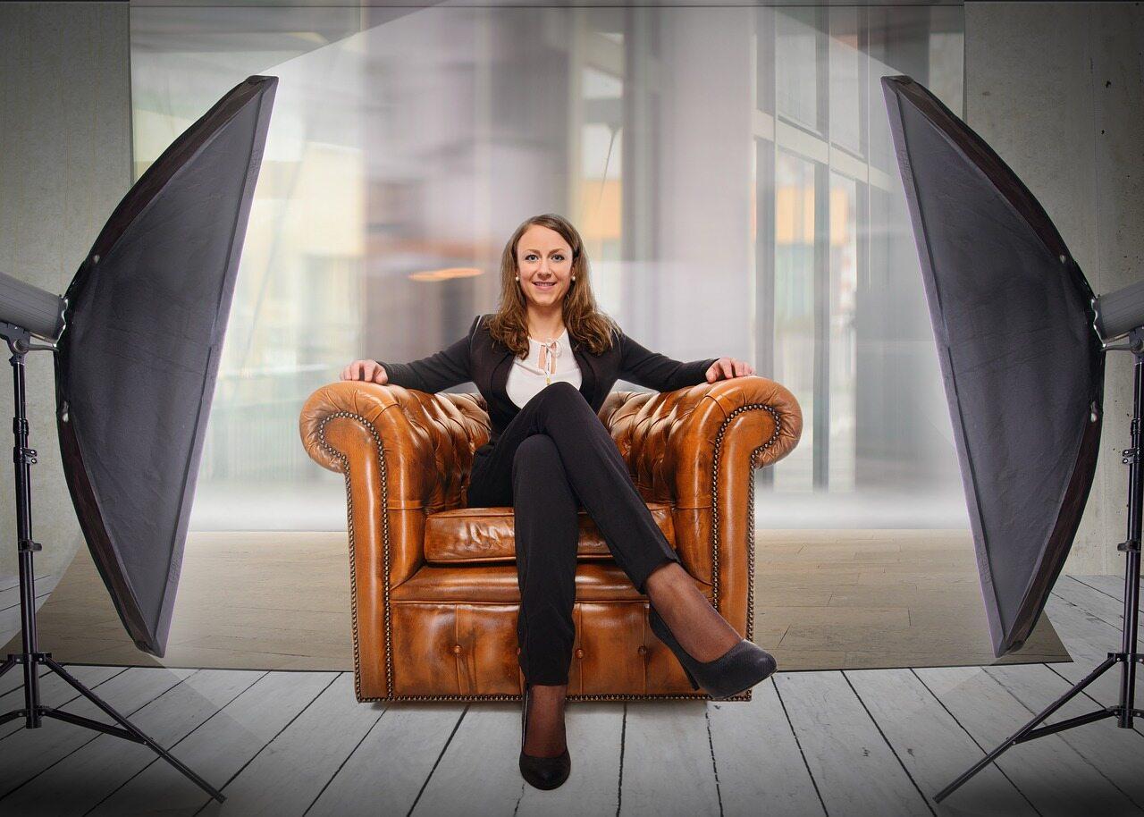 Bizneswoman, zdj. ilustracyjne