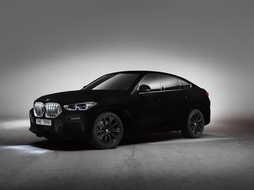 BMW z powłoką Vantablack VBx2