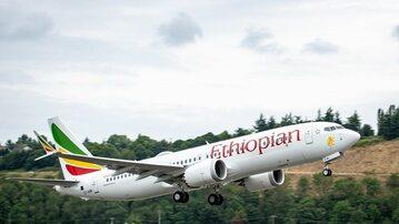 Boeing 737 MAX 8 linii Ethiopian