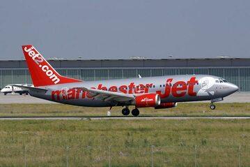 Boeing 737 w barwach Jet2.com