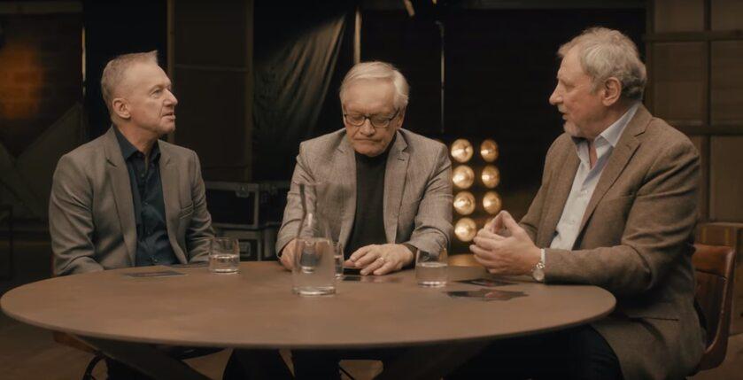 Bogusław Linda, Andrzej Seweryn i Andrzej Grabowski
