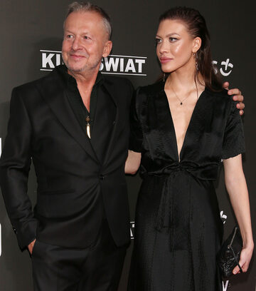 Bogusław Linda z córką Aleksandrą