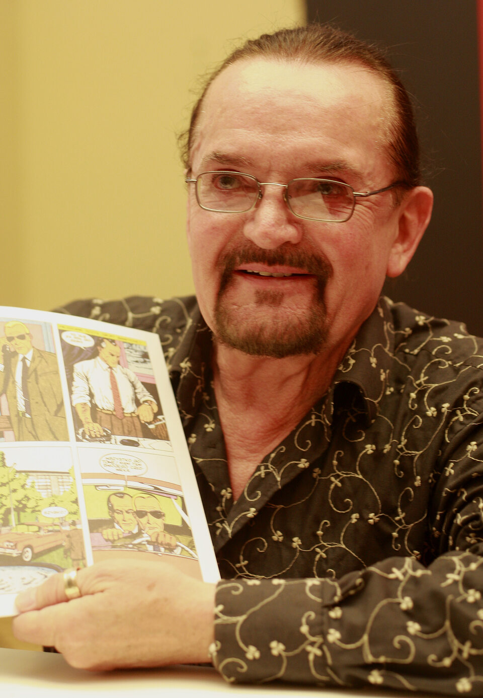 Bogusław Polch, jeden z autorów komiksów o Kapitanie Żbiku