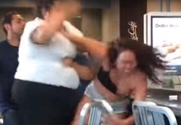 Bójka w restauracji McDonald's