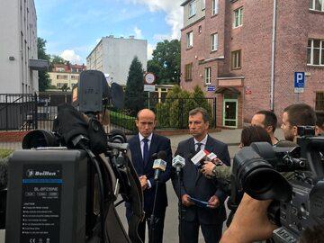Borys Budka i Andrzej Halicki
