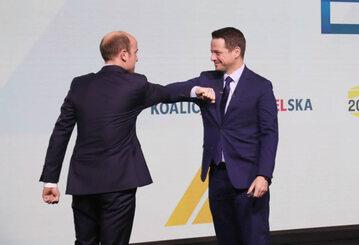 Borys Budka i Rafał Trzaskowski