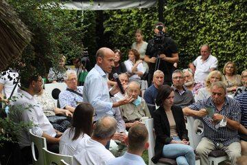Borys Budka na spotkaniu w Nowym Targu