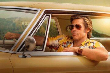 "Brad Pitt w filmie ""Pewnego razu w Hollywood"""