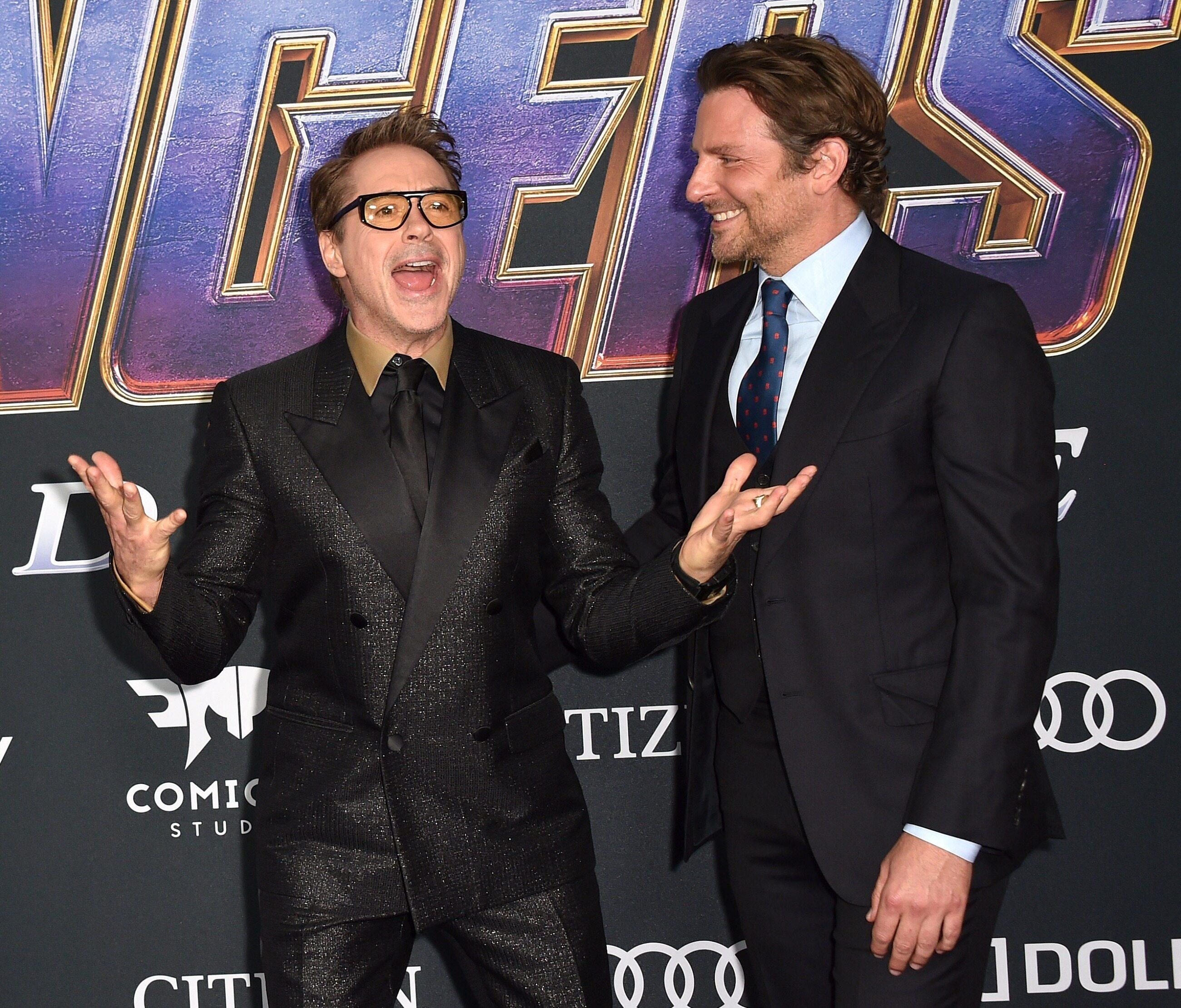 Bradley Cooper i Robert Downey Jr.