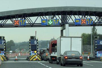 Bramki na autostradzie A4