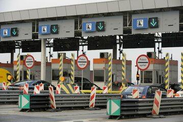 Bramki na autostradzie, zdj. ilustracyjne