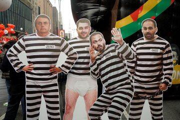 Brazylia. Manifestacje przeciwko prezydentowi Jairowi Bolsonaro