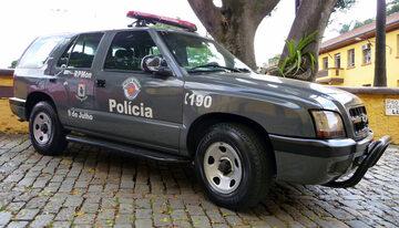 Brazylijska policja, zdjęcie ilustracyjne