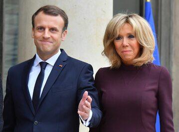 Brigitte i Emmanuel Macron