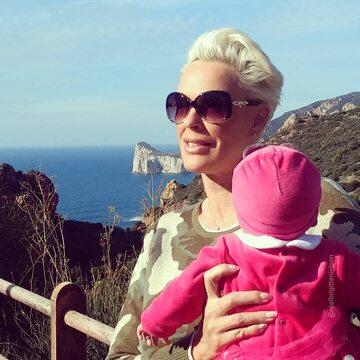 Brigitte Nielsen z córką