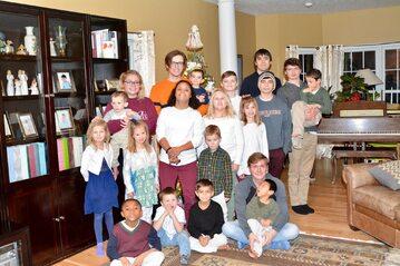 Brittany Jencik i jej rodzina