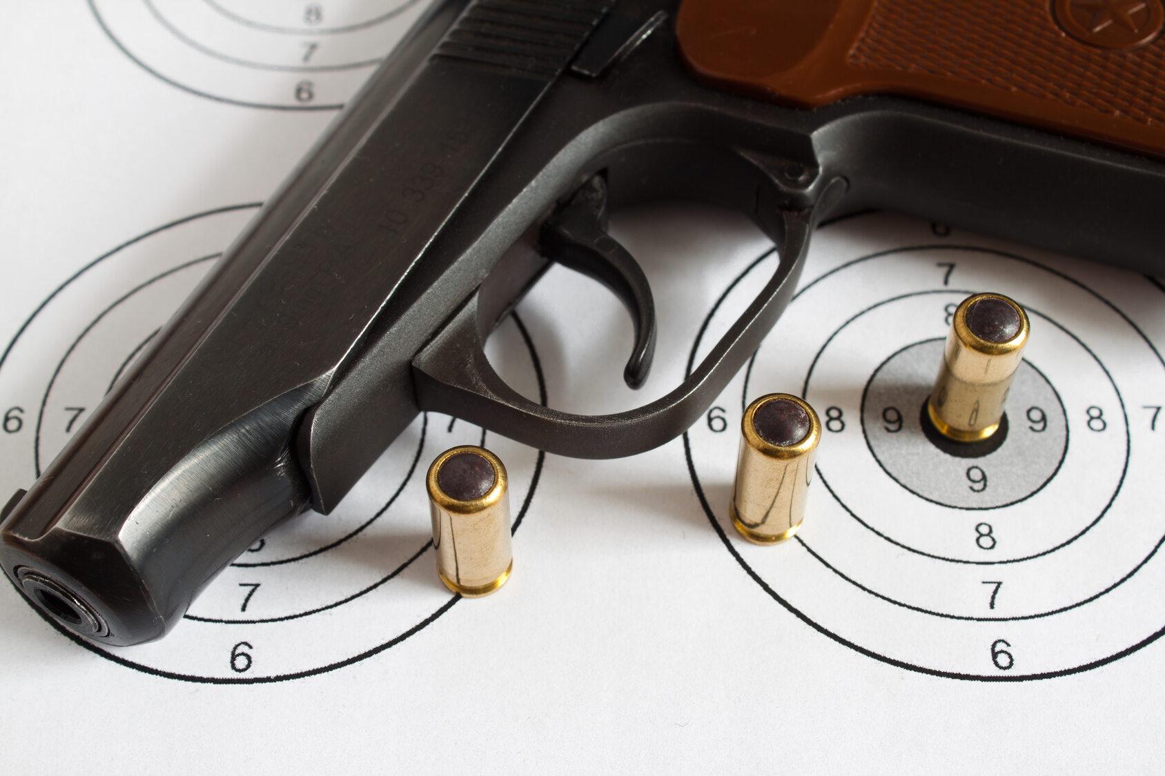 Broń, zdjęcie ilustracyjne