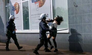 Brutalna interwencja policji w Głogowie