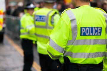 Brytyjska policja, zdjęcie ilustracyjne