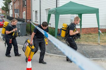 Brytyjskie służby kierują się do domu ofiar zatrucia Nowiczokiem