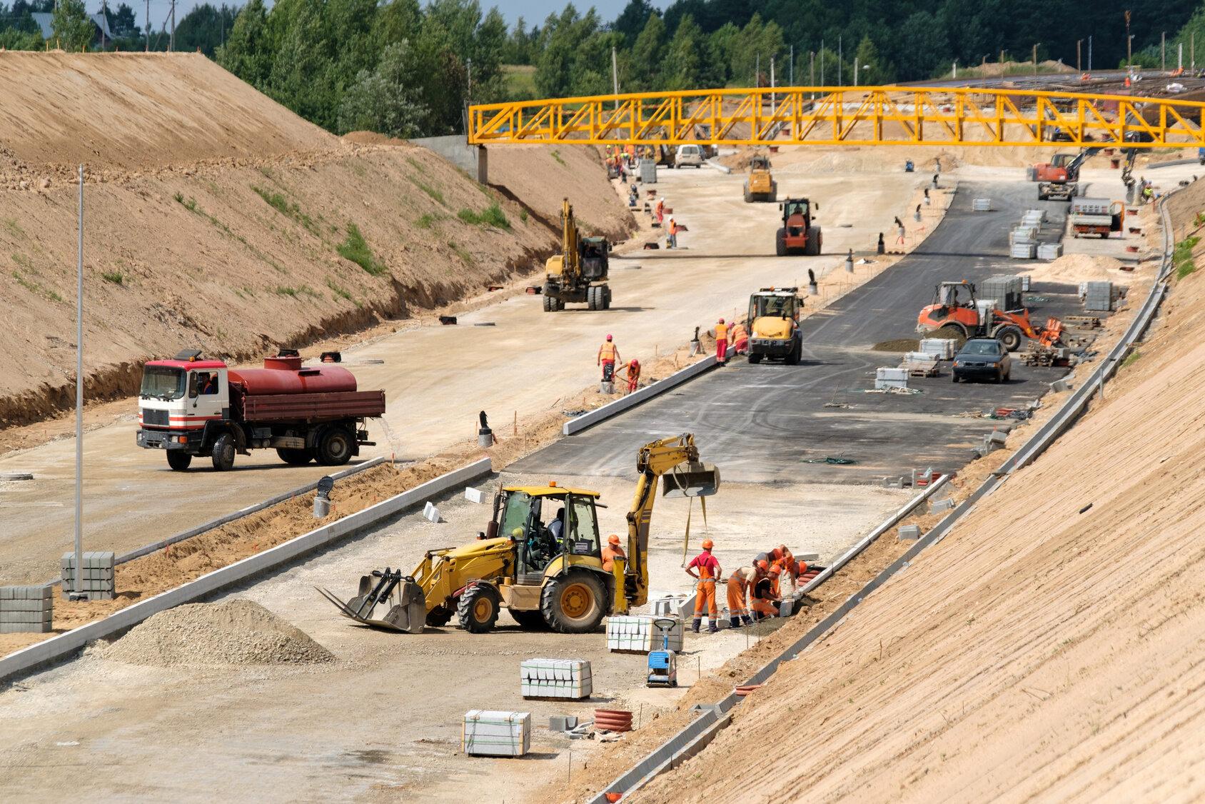 Budowa dróg, zdjęcie ilustracyjne